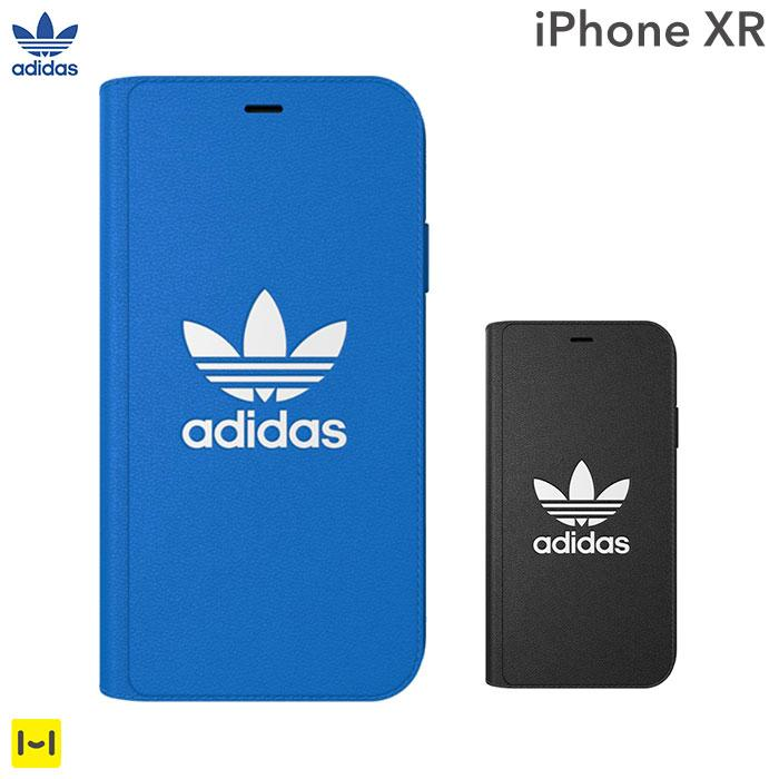 [iPhone XR専用]adidas Originals TPU Booklet Case BASIC