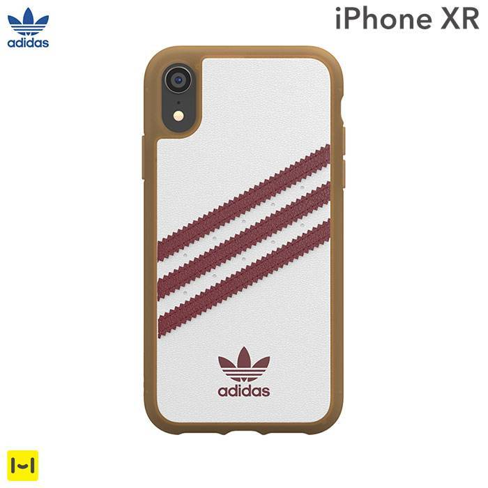 [iPhone XR専用]adidas Originals Moulded Case SAMBA(Collegiate Burgundy)