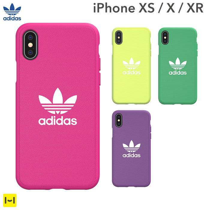 [iPhone XS/X/XR専用]adidas Originals Adicolor Moulded Case