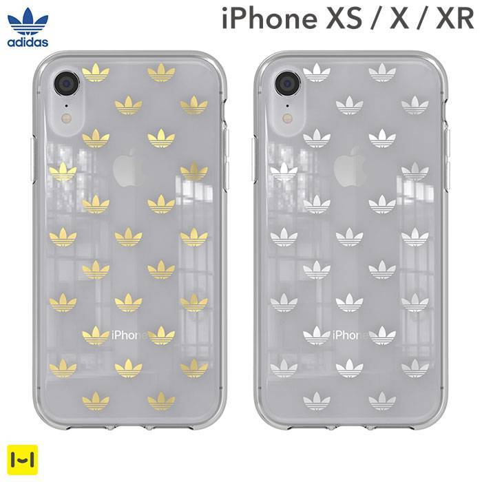 [iPhone XS/X/XR専用]adidas Originals TPU Clear Case