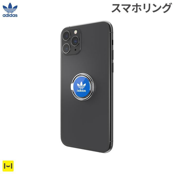 [各種スマートフォン対応]adidas Originals Universal Phone Ring(Bluebird/White)