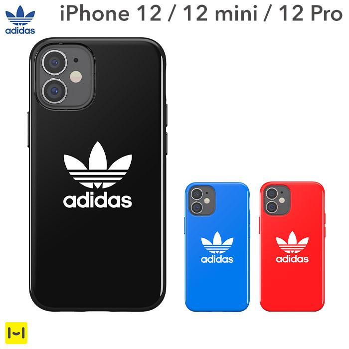 [iPhone 12/12 mini/12 Pro/12 Pro Max専用]adidas Originals TPU Case Trefoil