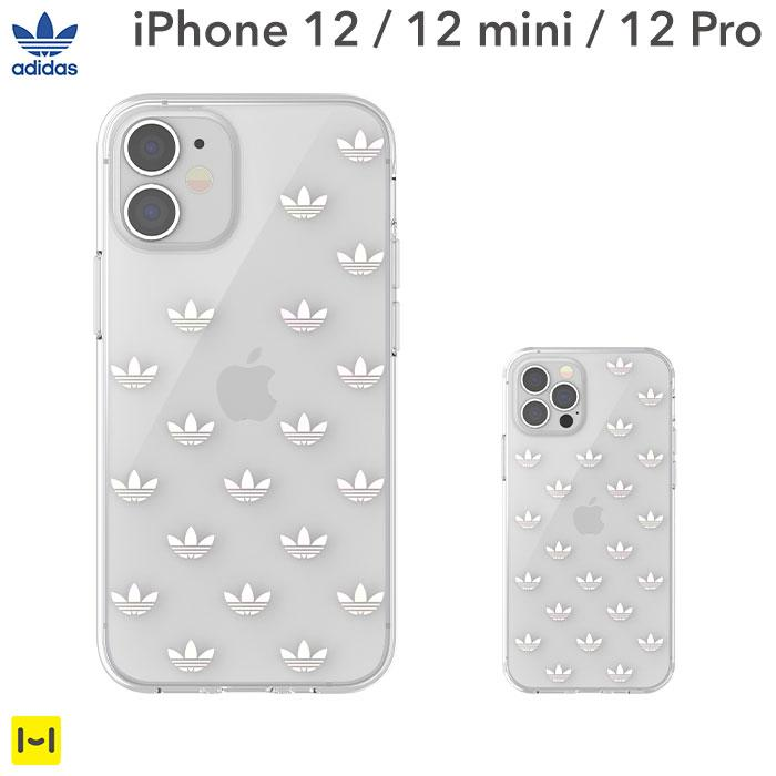 [iPhone 12/12 mini/12 Pro専用]adidas Originals Clear Case ENTRY