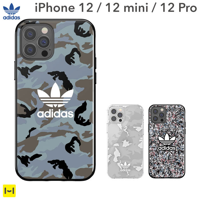 [iPhone 12/12 mini/12 Pro専用]adidas アディダス Originals TPU Moulded Case