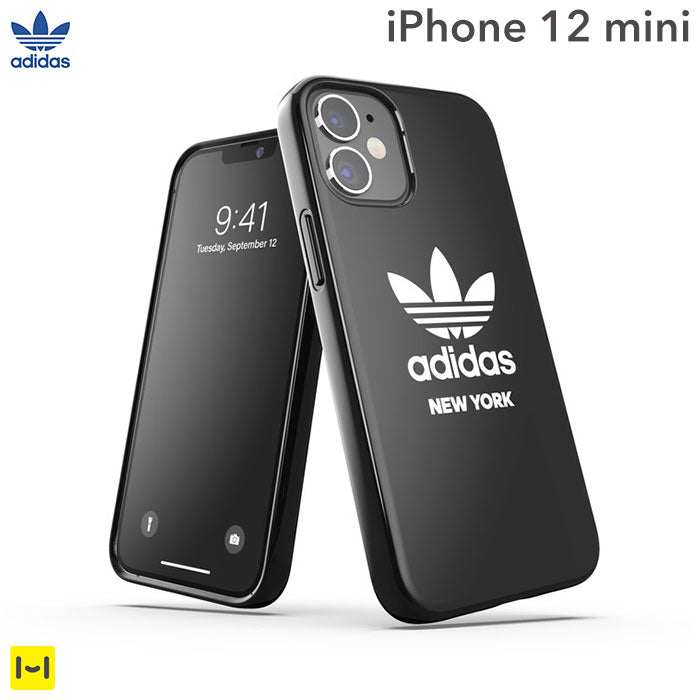 [iPhone 12 mini専用]adidas アディダス Originals key city entry case(Trefoil/New York)