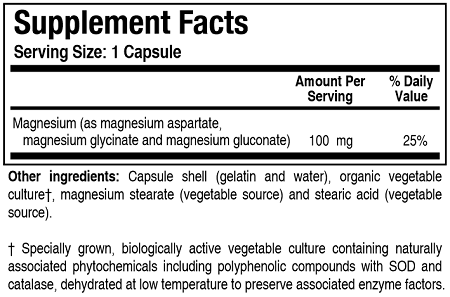 Mg-Zyme (Magnesium) 100C - HolisticHealthPartners