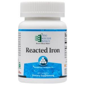Reacted Iron - 60 CT - HolisticHealthPartners