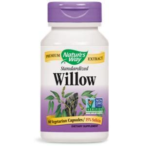 White Willow Bark Extract - 60 caps / 250 mg - HolisticHealthPartners