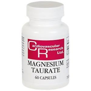 Magnesium Taurate 125mg 60c - HolisticHealthPartners