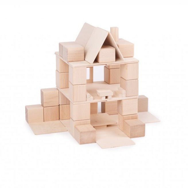 Just Blocks small pack house build