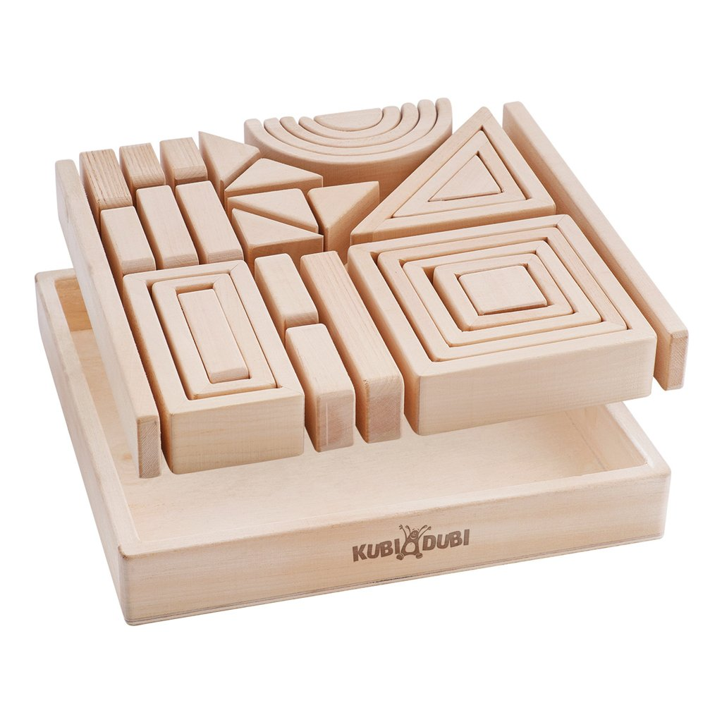 Kubi Dubi pythagoras block set boxed