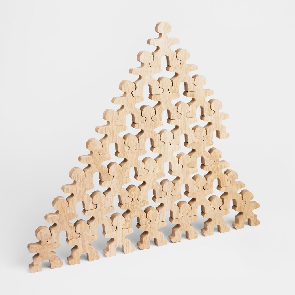 Flockmen full flock of 32 pyramid stacked