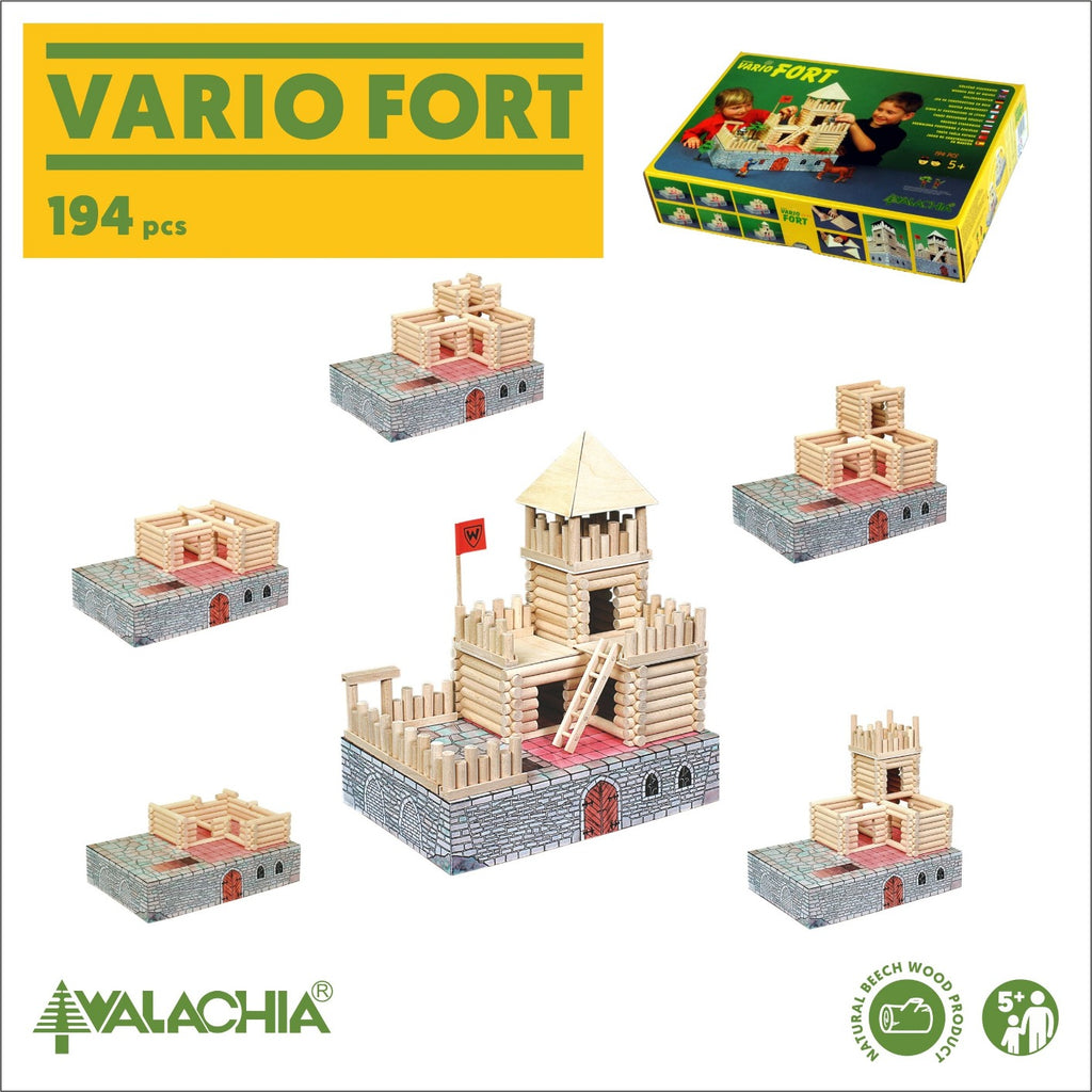 Walachia fort building set, construction options