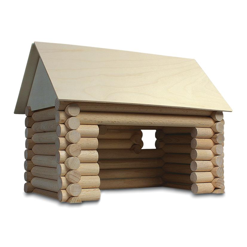 Walachia vario construction set, log cabin building
