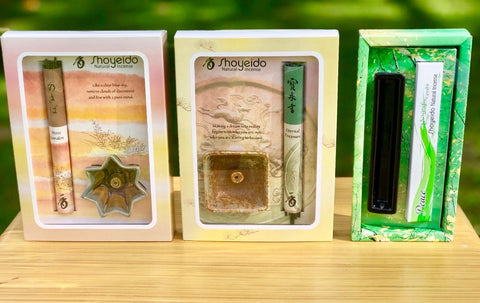 Shoyeido Natural Incense Gift Sets