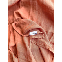 Load image into Gallery viewer, Organic Cotton & Bamboo Swaddle - Apricot
