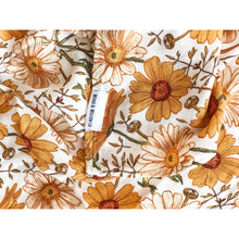 Load image into Gallery viewer, Organic Cotton & Bamboo Swaddle - Sunflower