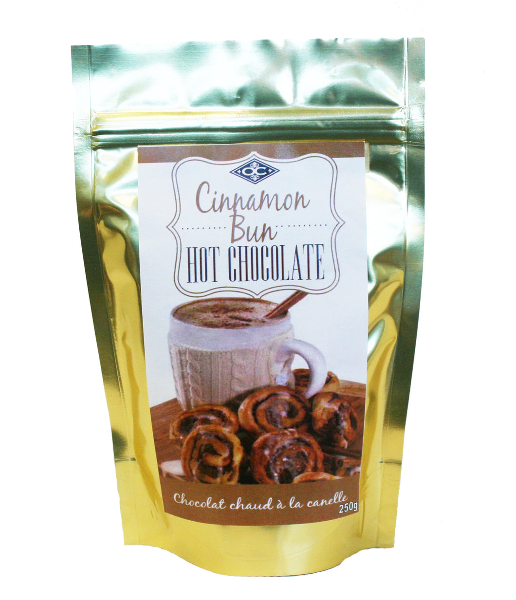 HC - 250G - Bag - Cinnamon Bun