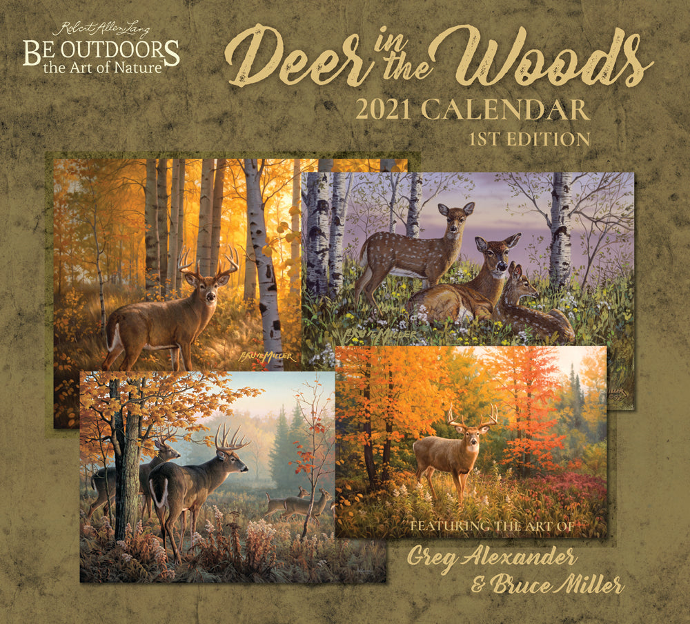 2021 - Deer in the Woods