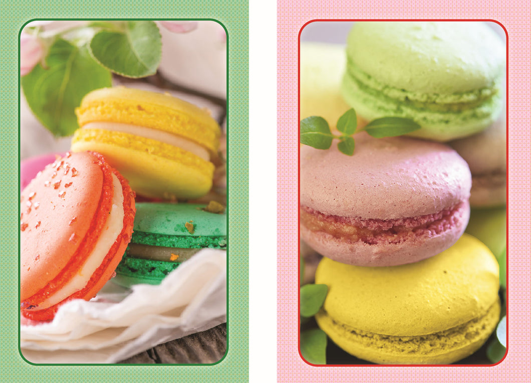 Bridge Standard Index Playing Cards - Macarons
