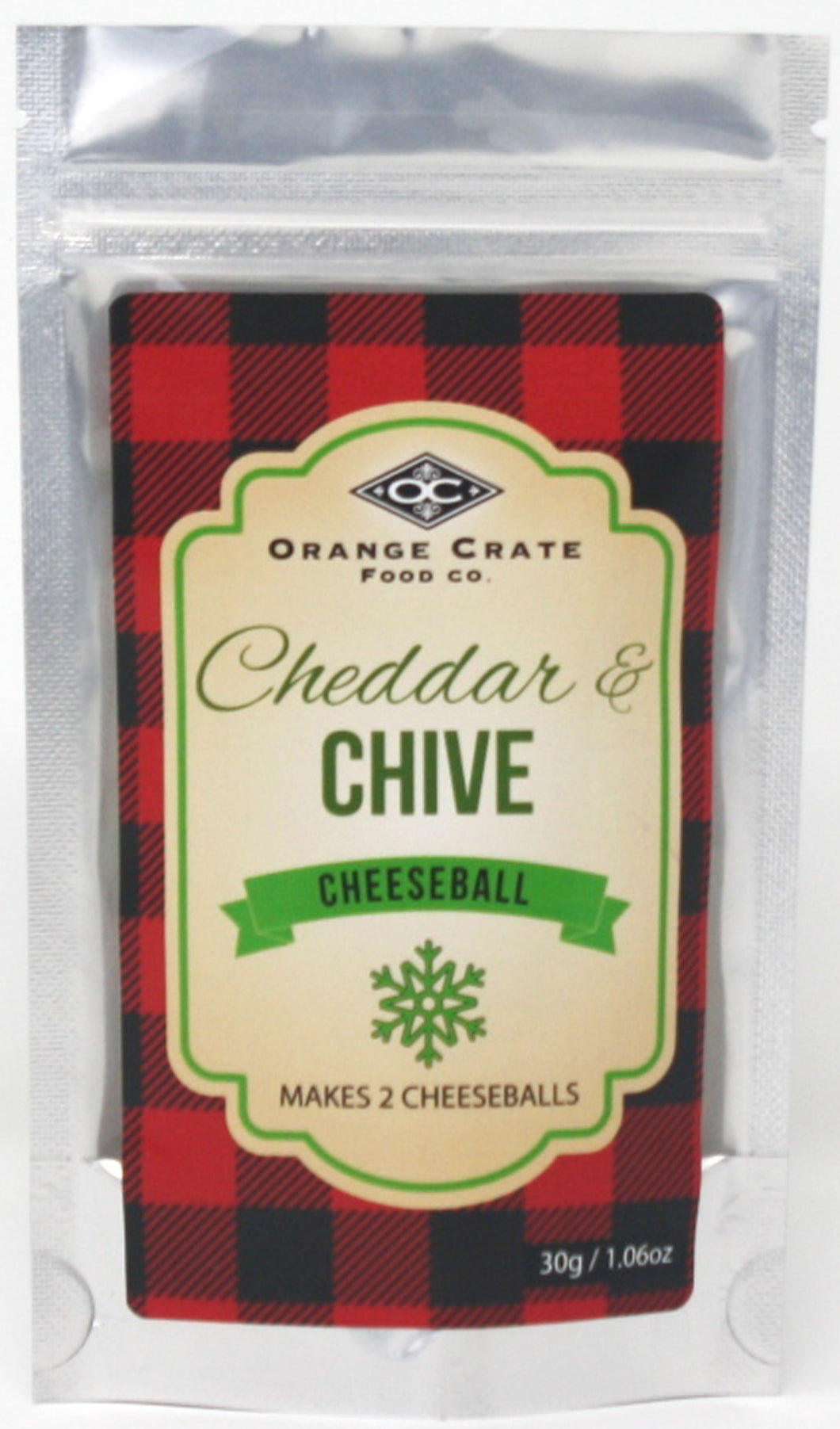 Chedder and Chive Cheeseball