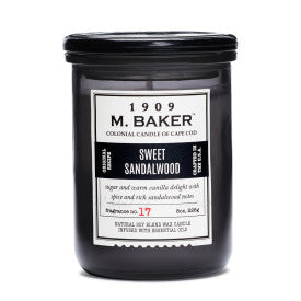 Baker - 8 oz - Sweet Sandalwood