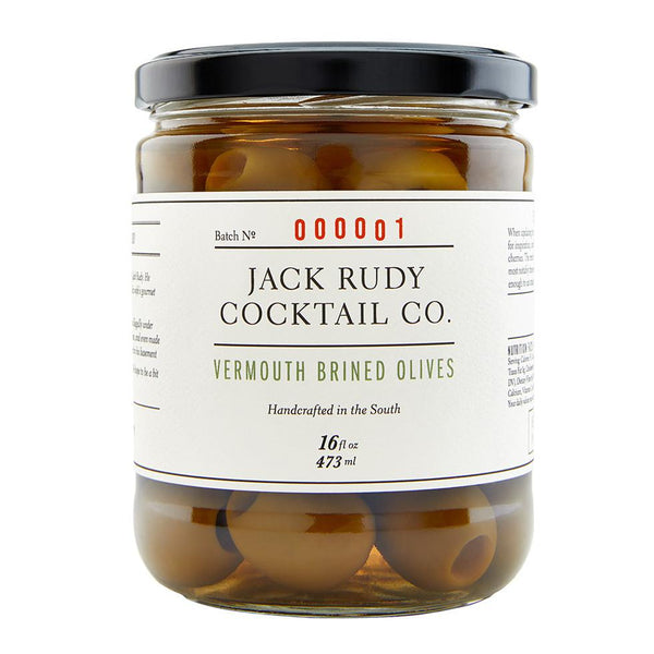 Jack Rudy Vermouth Brined Olives 473g