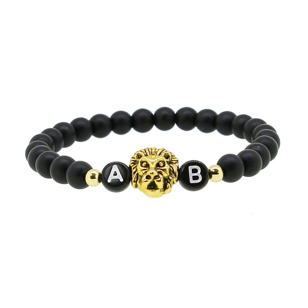1 x Black Lion Gold Armband