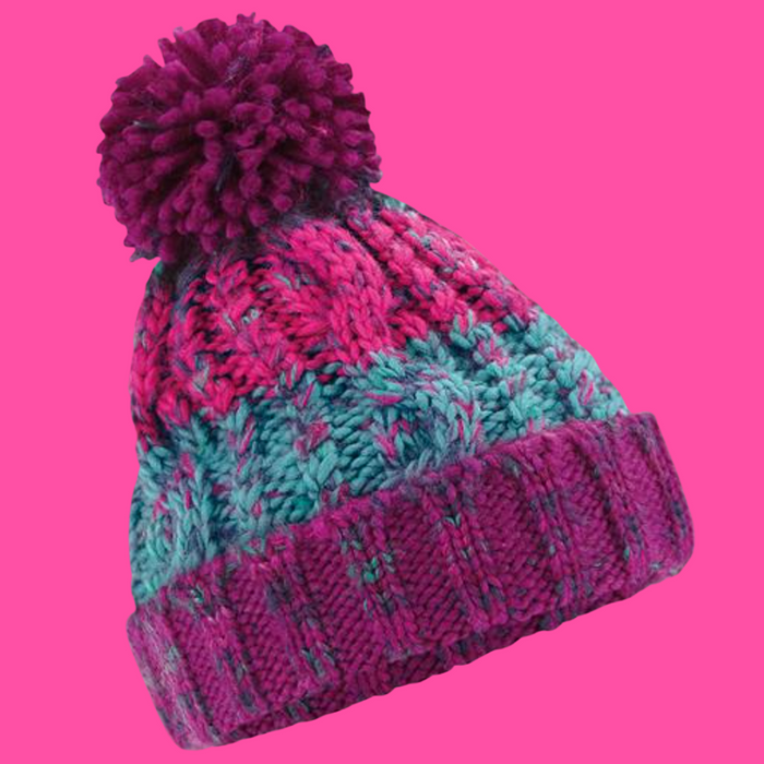 Mottled Knit Family Matching Hats (4 colours!)