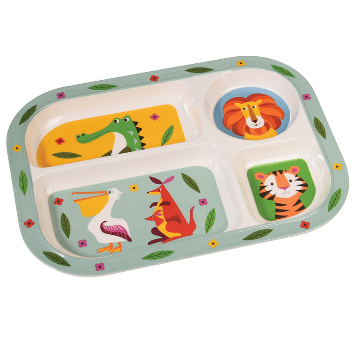 Colourful Creatures Dinner Tray