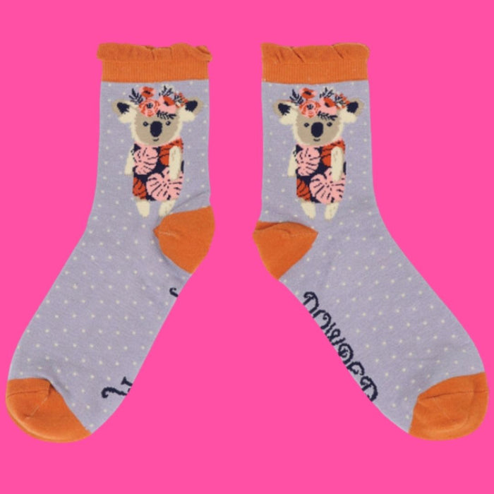Funky Bamboo Ankle Socks (5 patterns!)