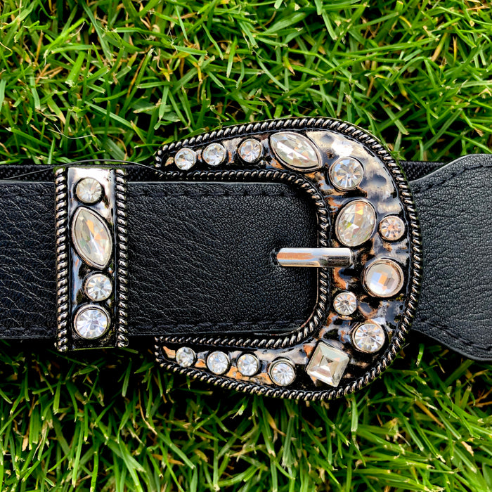 Gem Diamante Buckle Belt