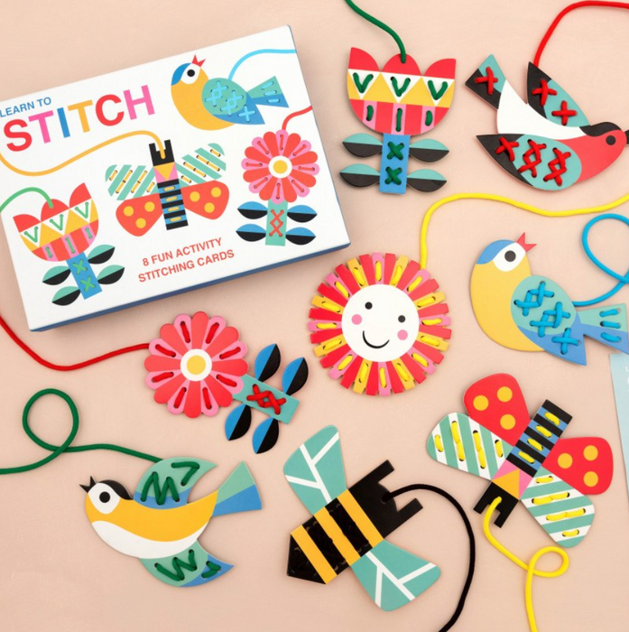 Learn To Stitch Activity Pack