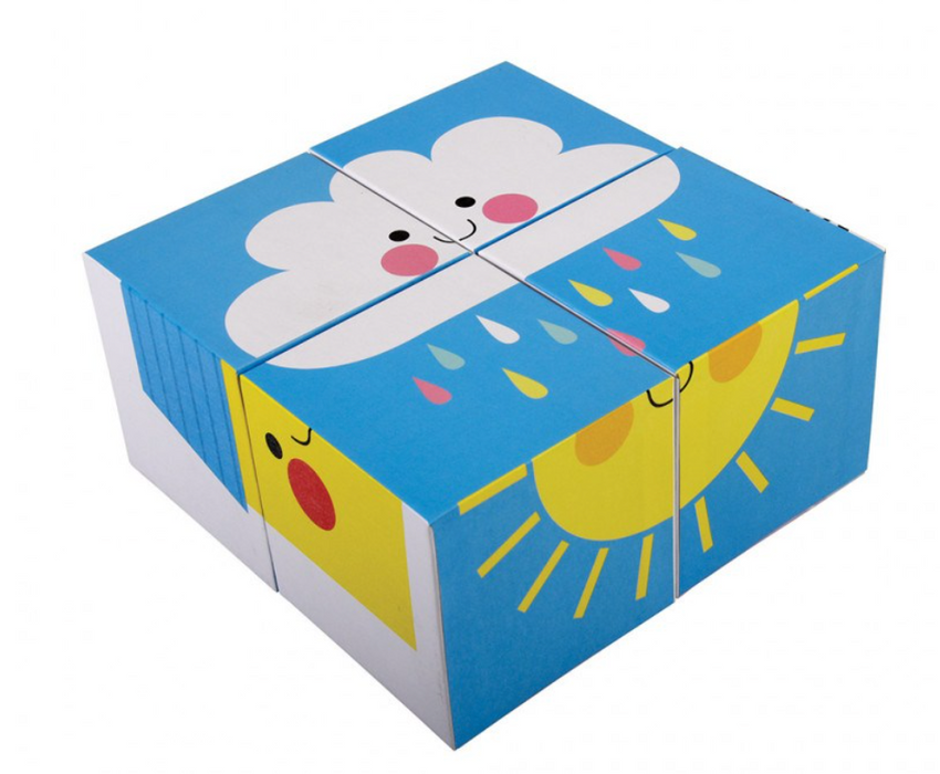 Happy Cloud Puzzle Blocks