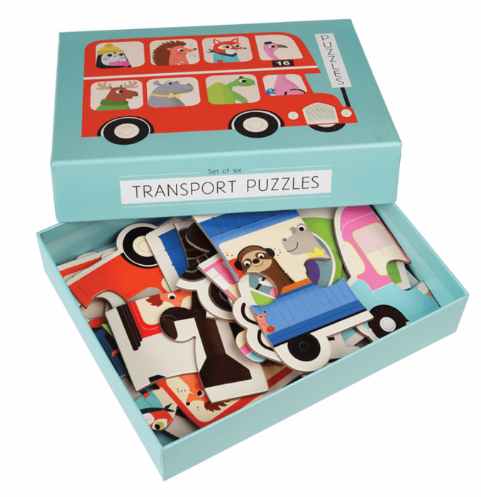 Transport Puzzle Set