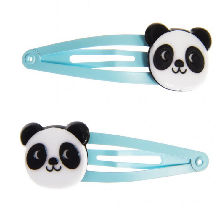 Miko The Panda Hair Clips