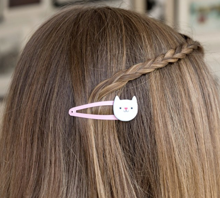 Cookie The Cat Hair Clips