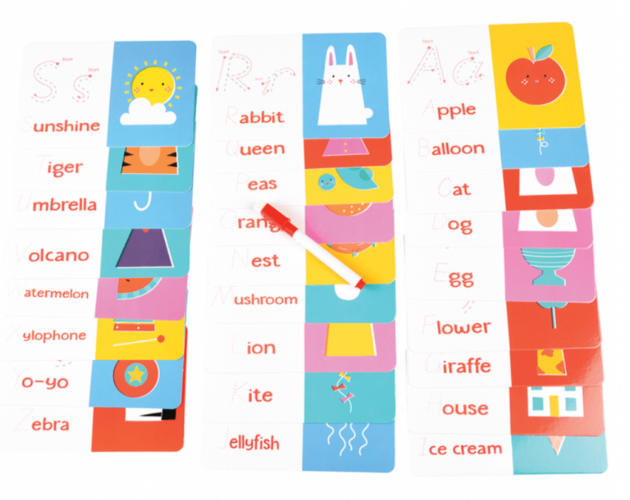 ABC Phonetic Learning Cards