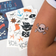 Pirate Temporary Tattoos (2 Sheets)