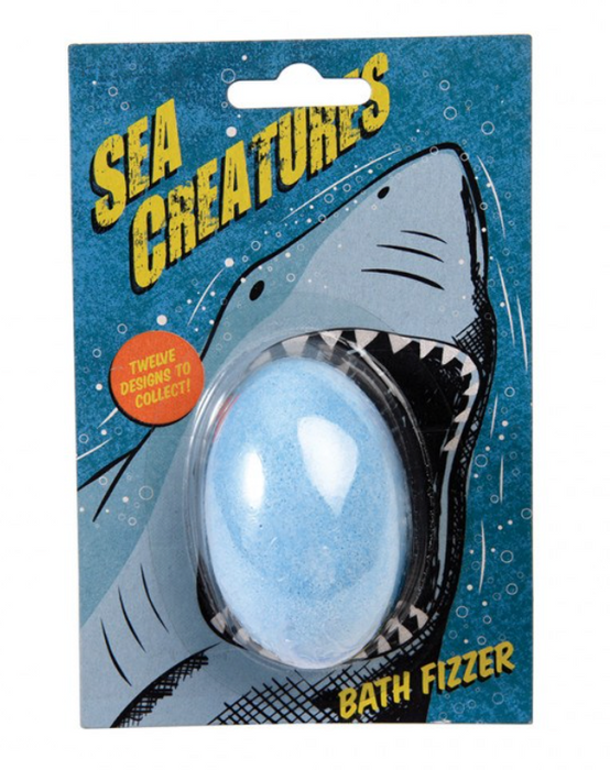 Sea Creatures Bath Fizzer & Mini Toy
