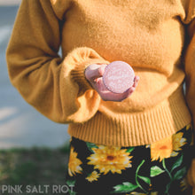 Load image into Gallery viewer, Beautiful & Beloved Pocket Mirror - Pink Salt Riot