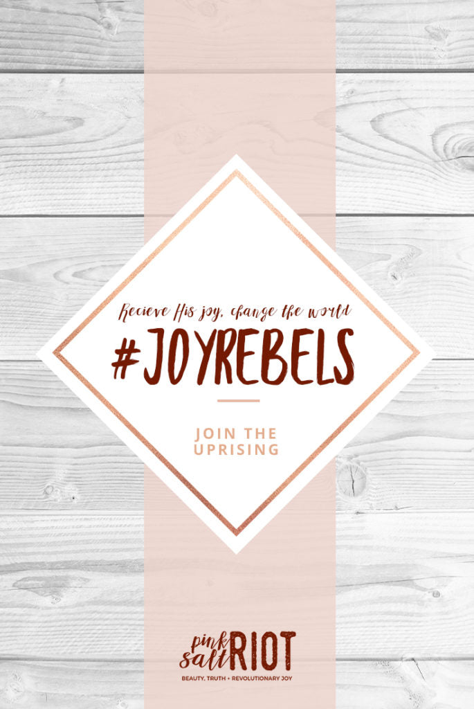 Pink Salt Riot Blog // #JoyRebels: Saints and a Sisterhood