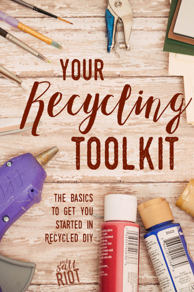 Pink Salt Riot // Your Recycling Toolkit: Everything You Need (And Nothing You Don't)
