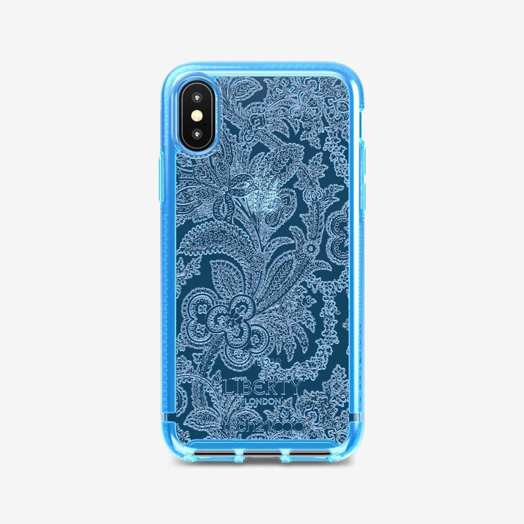 Pure Design Liberty Grosvenor for Apple iPhone Xs Max - Blue