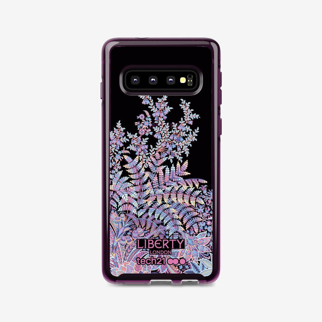 Pure Print Liberty Shangri-La Burgundy for Samsung Galaxy S10 - Red