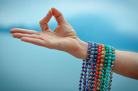 Round beads for healing