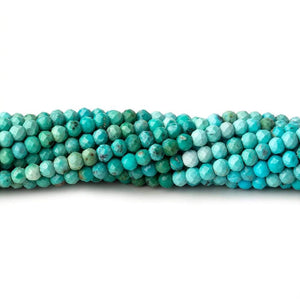 2.5mm Multi Color Turquoise Micro Faceted Rondelle Beads 13 inch 148 pieces AA - Beadsofcambay.com