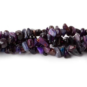 5x4-9x5mm Sugilite plain chip beads 16 inch 170 pieces - Beadsofcambay.com