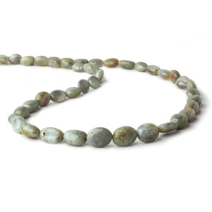 7x5-12x8mm Cat's Eye Chrysoberyl plain nugget beads 18 inch 47 pieces - Beadsofcambay.com