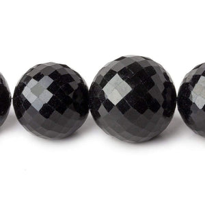 Rainbow Obsidian Faceted Round Beads 16 inch 15-18mm 26 pieces - Beadsofcambay.com